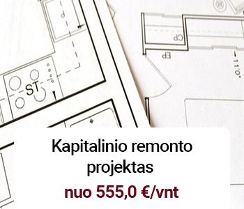 kapitalinio remonto projektas